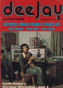 Kenny Everett Radio Caroline DJ Wireless Radio Workshop 1970s Magazine