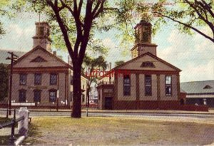 MUNICIPAL BUILDING AND COURT HOUSE, WOBURN, MA 1907