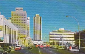 Canada City Hall and CN Towers Edmonton Alberta