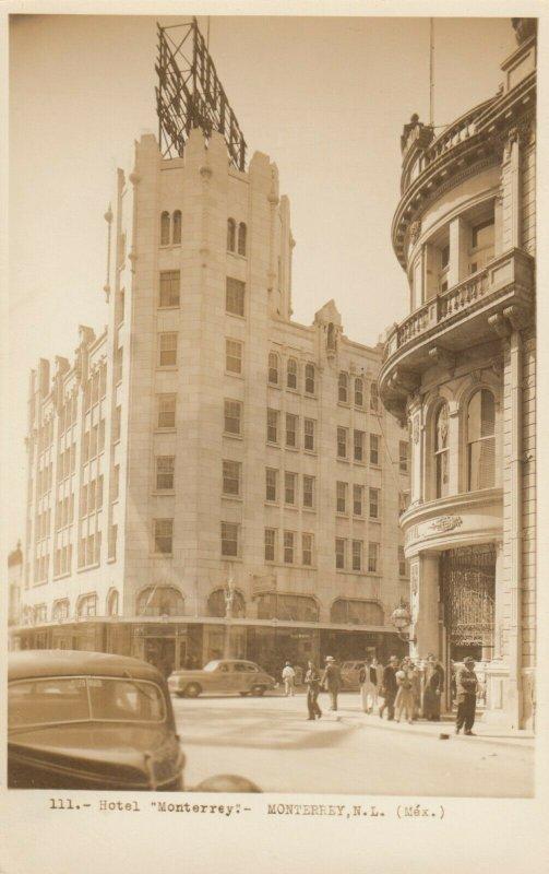 RP: MONTERREY, N.L. , Mexico, 1930-40s ; Hotel Monterrey