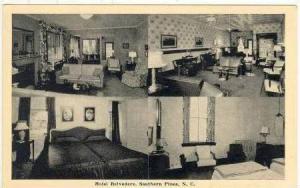 Hotel Belvedere, Southern Pines, N. Carolina, 20-40s