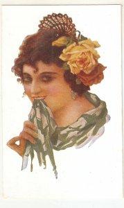 A. Codina. Spanish Lady. Tipo Español Nice spanish postcarrd 1920s