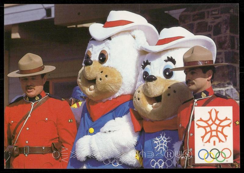 Hidy and Howdy - Official Mascots of the 1988 Olympic Winter Games