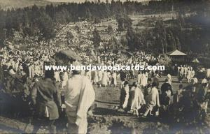 ethiopia Abyssinia, Timkat Festival Ceremony, After Washing (1910s) Mission RPPC