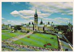 Canada Centre Block Of Parliament Buildings Ottawa Ontario