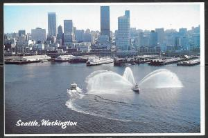 Washington, Seattle, waterfront, unused