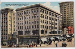 Rose Building & Henshaw Hotel, Omaha NE