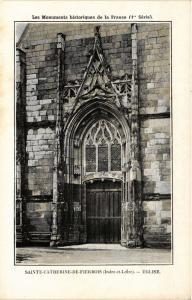 CPA Ste-CATHERINE de Firebois - Église (279806)