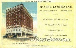 Hotel Lorraine - Toledo, Ohio