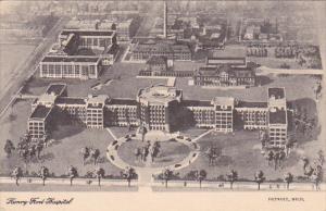 Henry Ford Hospital, DETROIT, Michigan, 00-10s