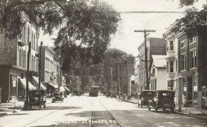 RP: FORT EDWARD , New York, 1927 ; Main Street