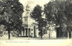 First Parish Church - Concord, Massachusetts MA