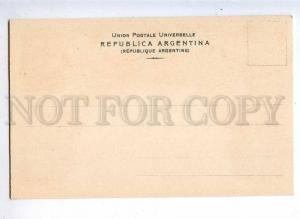 231960 ARGENTINA Coat of arms STAMPS Vintage Zieher postcard