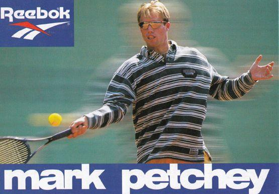 Mark Petchey Tennis Champion Rare Early Publicity Card Photo