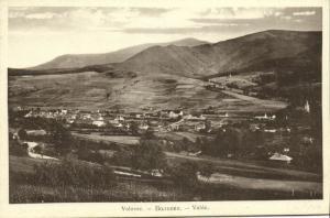 ukraine russia, VOLOVETS VOLÓC VOLOVEC Воловец, Panorama (1910s)