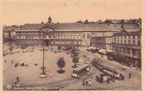Belgium Liege Palais de Justic et Place Saint Lambert