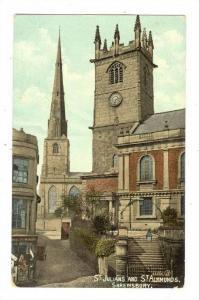 St Julinas & St Alkunds, SHREWSBURY , England 00-10s