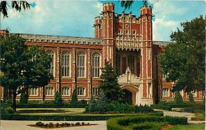 Bizzell Memorial Library, University of Oklahoma, Norman, OK, 1967 Chrome