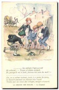 Old Postcard Fantasy Illustrator Poulbot Victor Hugo The Legend centuries Toa...