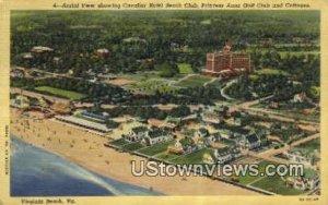 Cavalier Beach Club And Hotel - Virginia Beachs, Virginia