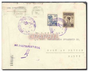 Letter Suriname to Port Au Prince September 26, 1923