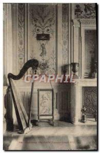 Old Postcard panels Decoratifs Louis XVI Harp