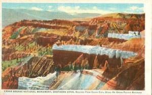 Cedar Breaks National Monument, Southern Utah, Union Paci...