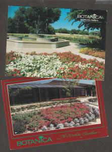 BOTANICA Postcards The Wichita Gardens Kansas Scenic Floral