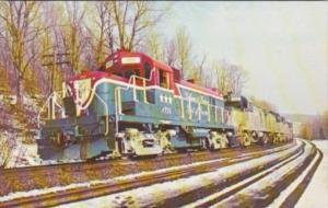 Delaware & Hudson 1976 Locomotive RW-6 The Paper Train At Kelleys Cut Duanesb...