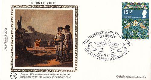 Yorkshire Mill Children Factory Benham First Day Cover