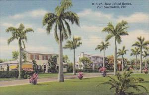 Florida Fort Lauderdale New Island Homes