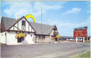 Preakness NJ The Rounders Restaurant Vintage Postcard