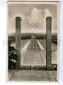174077 GERMANY BERLIN OLYMPIAD 1936 Vintage registered RPPC