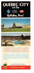 Holiday Inn, Ste Foy, Quebec, Vintage Advertising Postcard 4 X 9 inches