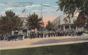 Indiana Valparaiso Dodges Telegraph Railway & Radio Wireless Institute Curteich