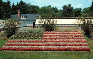 Connecticut Hartford American Flag At Elizabeth Park