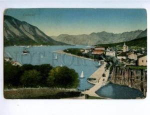 158098 Montenegro Kotor CATTARO Vintage RPPC postcard