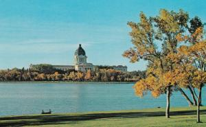 REGINA , Saskatchewan , Canada , 50-60s ; Legislative Buildings