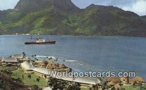 Hotel Inter Continental Pago Pago French Polynesia Unused