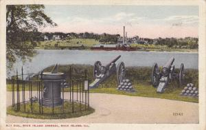 Sun Dial, Rock Island Arsenal, Rock Island, Illinois, PU-1916
