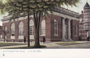 NORTHAMPTON , Massachusetts , 1901-07 ;Post Office ; TUCK