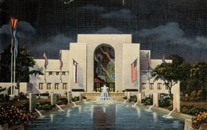 TX - Dallas, 1936. Texas Centennial Exposition. Administration Building  (car...