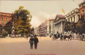 MADRID, Spain, 1900-1910s; Carrera de San Jeronimo