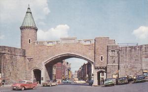 St. John Gate, QUEBEC CITY, Quebec, Canada, 40-60´s
