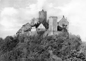 Eisenach Thueringer Die Wartburg von Suedosten