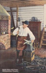 Deane Shop And Forge, WILLIAMSBURG, Virginia, 1930-1940s