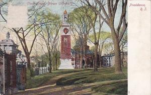 Rhode Island Providence Clock Tower Brown University
