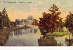 THE PERISTYLE, CITY PARK, NEW ORLEANS, LA
