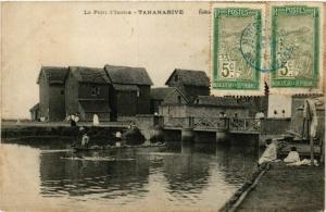 CPA TANANARIVE Le Pont d'Isotra MADAGASCAR (709643)