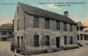 ST. AUGUSTINE, Florida, 00-10s; House of History on the Bay, Corner Treasury St.